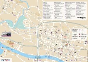 Glasgow City Centre Map